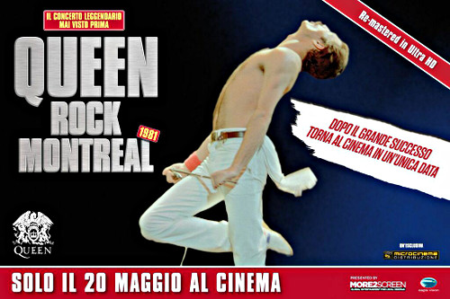 Locandina del film Queen Rock Montreal